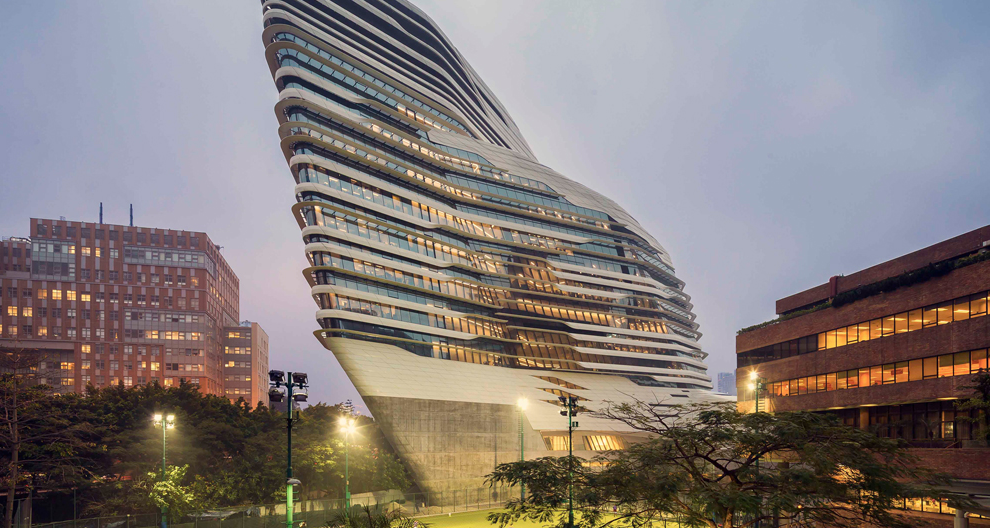 Hadid Innovation Tower in 香港