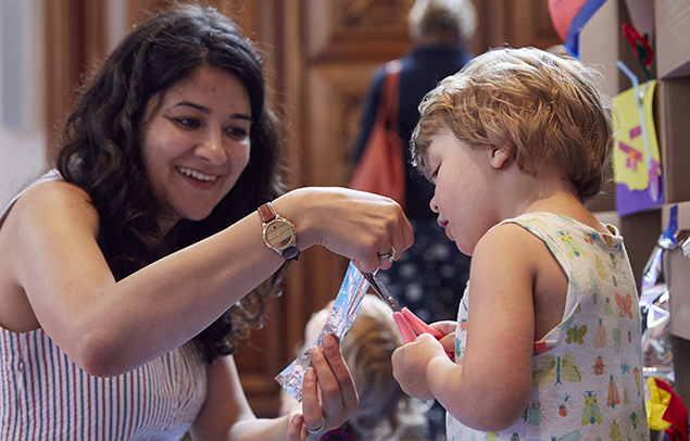 family fun event at the RIBA, London