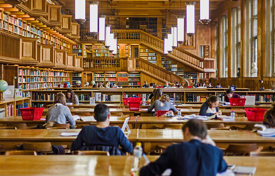 Library of the university of Leuven, Belgium